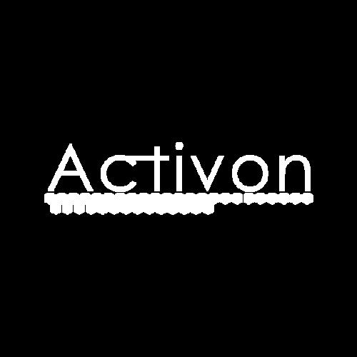 Activon Logotyp Vit