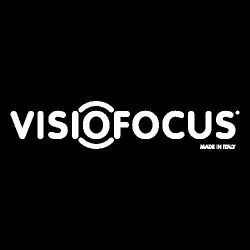 VisioFocus Logotyp Vit